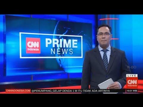 Live ! CNN Indonesia Prime News, Setnov Dituntut 16 Tahun Penjara