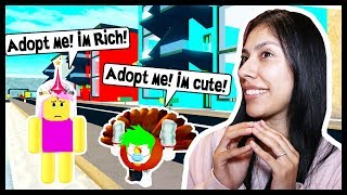 Adopt and Raise a Cute Kid - Roblox Roleplay - ADOPTING A CUTE PET!?