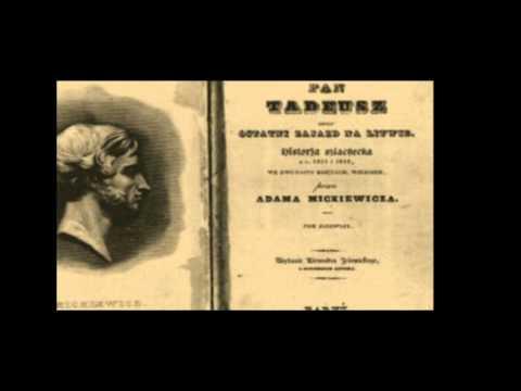 Adam Mickiewicz Twórczość I życie Youtube