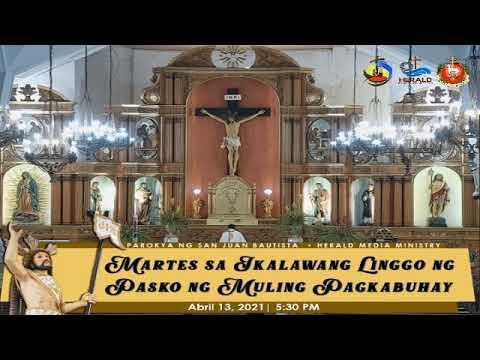 Martes sa Ikalawang Linggo ng Pasko ng Muling Pagkabuhay | SJBP - Calamba City