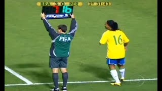 Download The Day Ronaldinho Substituted & Changed The Game Mp3 and Videos