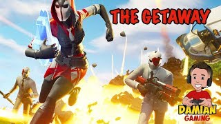 THE GETAWAY HIGH STAKES | FORTNITE | KID GAMER | DAMIAN GAMING