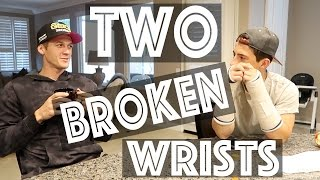 TWO BROKEN WRISTS   Beach, Speak Out + More