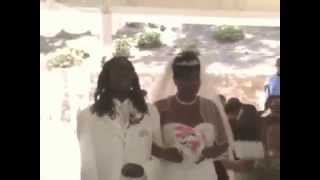 Son Sings For His Mom As He Walks Her Down The Aisle For Her Wedding