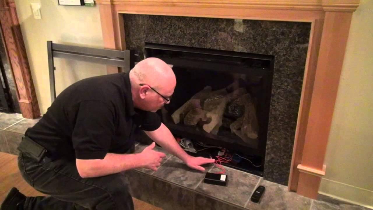 syncing heatilator smart stat or batt remote video youtube
