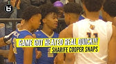 Don&#39t Talk Trash To Sharife Cooper! Heated Game