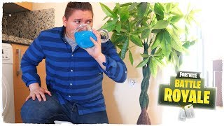FORTNITE CHALLENGE IN REAL LIFE!