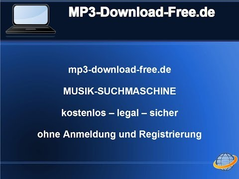 MP3-Download-Free.de - legal music search engine for free without registration
