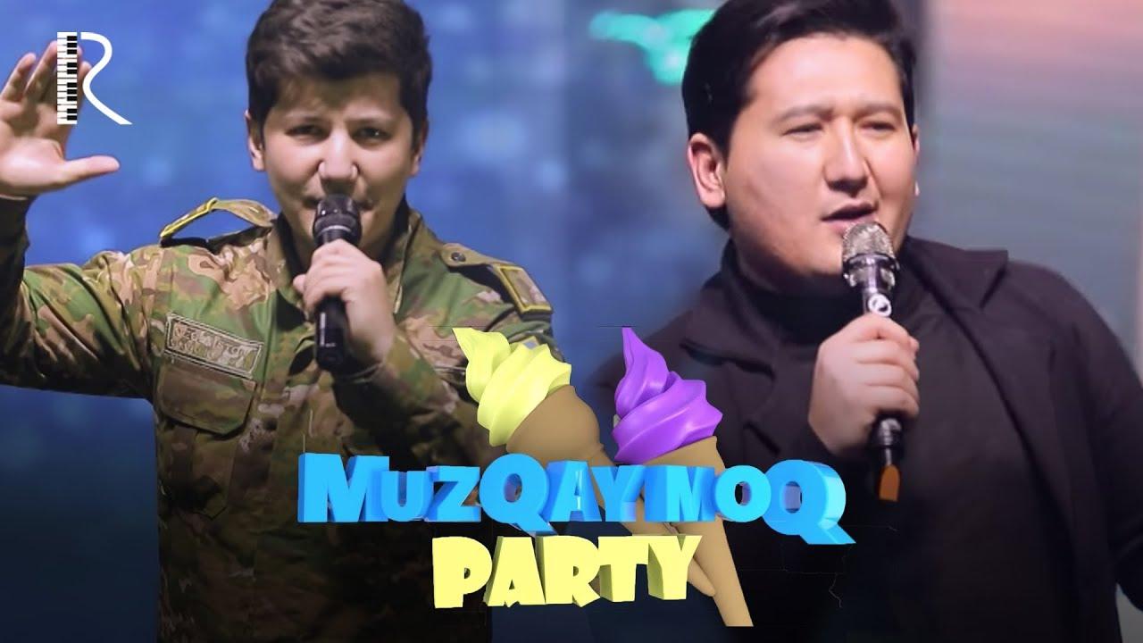 Muzqaymoq party - Xonanda Mashxurbek harbiy kiyimga sig'madi