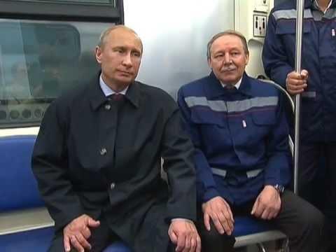 В вагоне метро между станциями Новокосино и Новогиреево. Москва. 05.04.2017