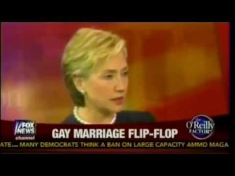 Hillary Clinton Against Gay Marriage