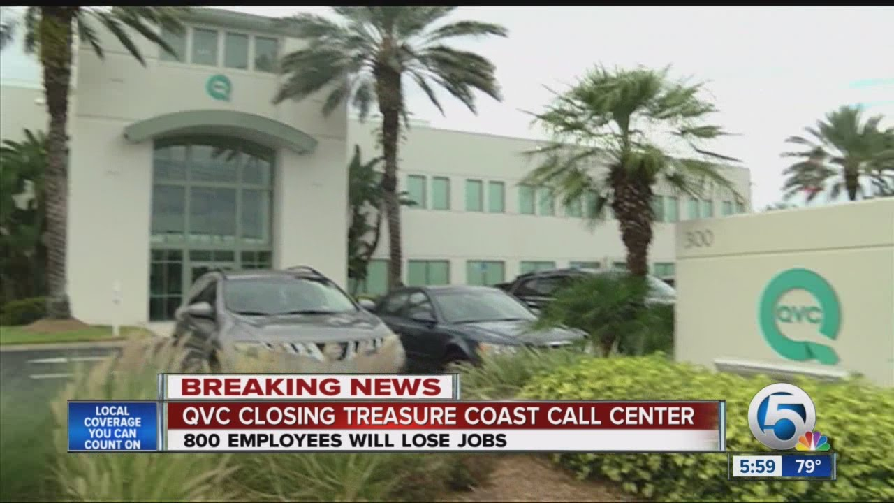 QVC closing Port St. Lucie contact center - YouTube