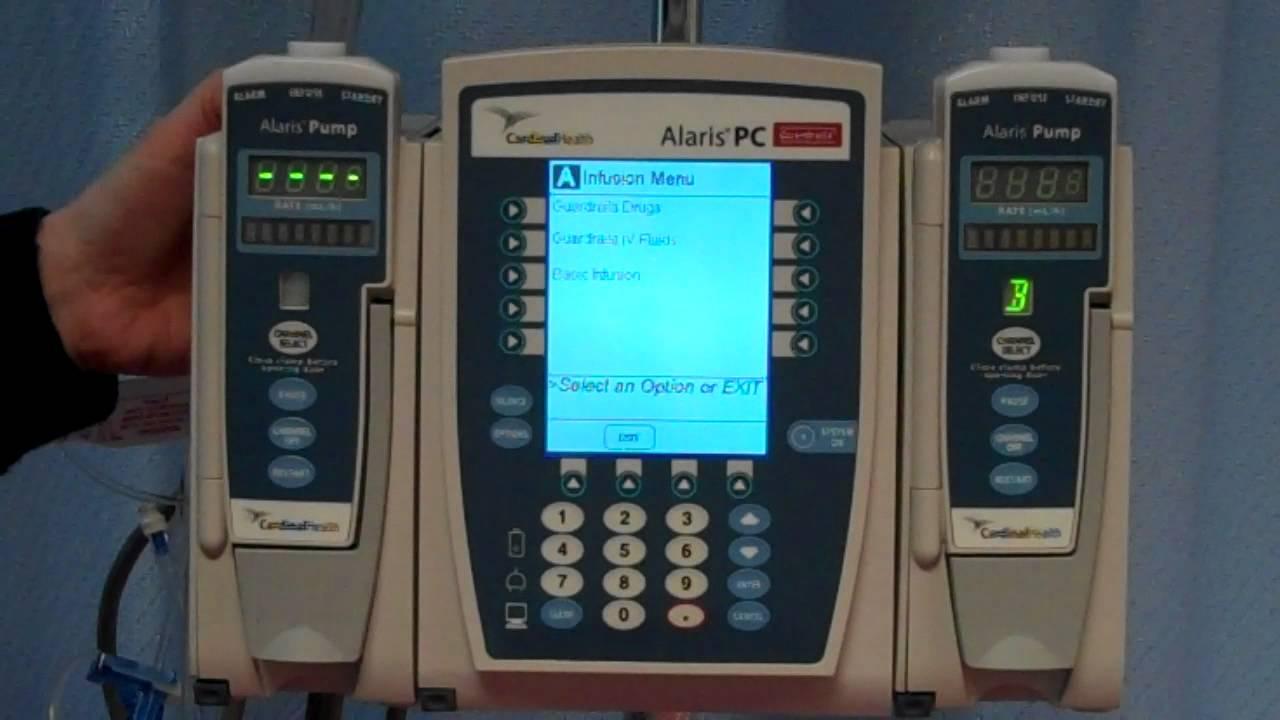 New IV pump demo