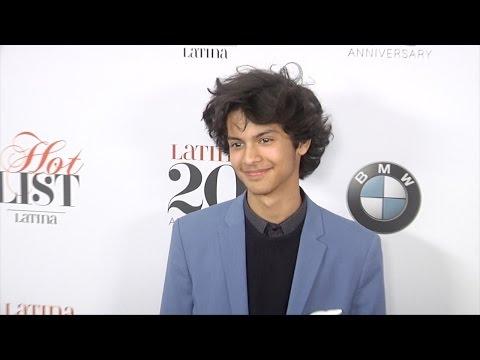 Xolo Mariduena Latina's 7th Annual Hollywood Hot List Red Carpet