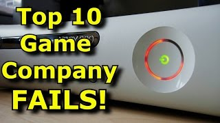 TOP 10 Gaming Company FAILS!
