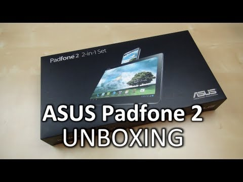 Unboxing: ASUS Padfone 2 | SwagTab