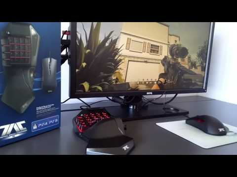 HORI TAC PRO Keyboard And Mouse PS4 Short Review Dutch - EN Subs