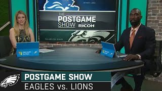 Philadelphia Eagles vs. Detroit Lions Postgame Show | 2019 Week 3