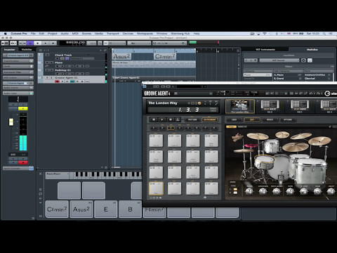 Media Bay, Chord Track, Chord Pads and Groove Agent | Make Music with Cubase Pro 8