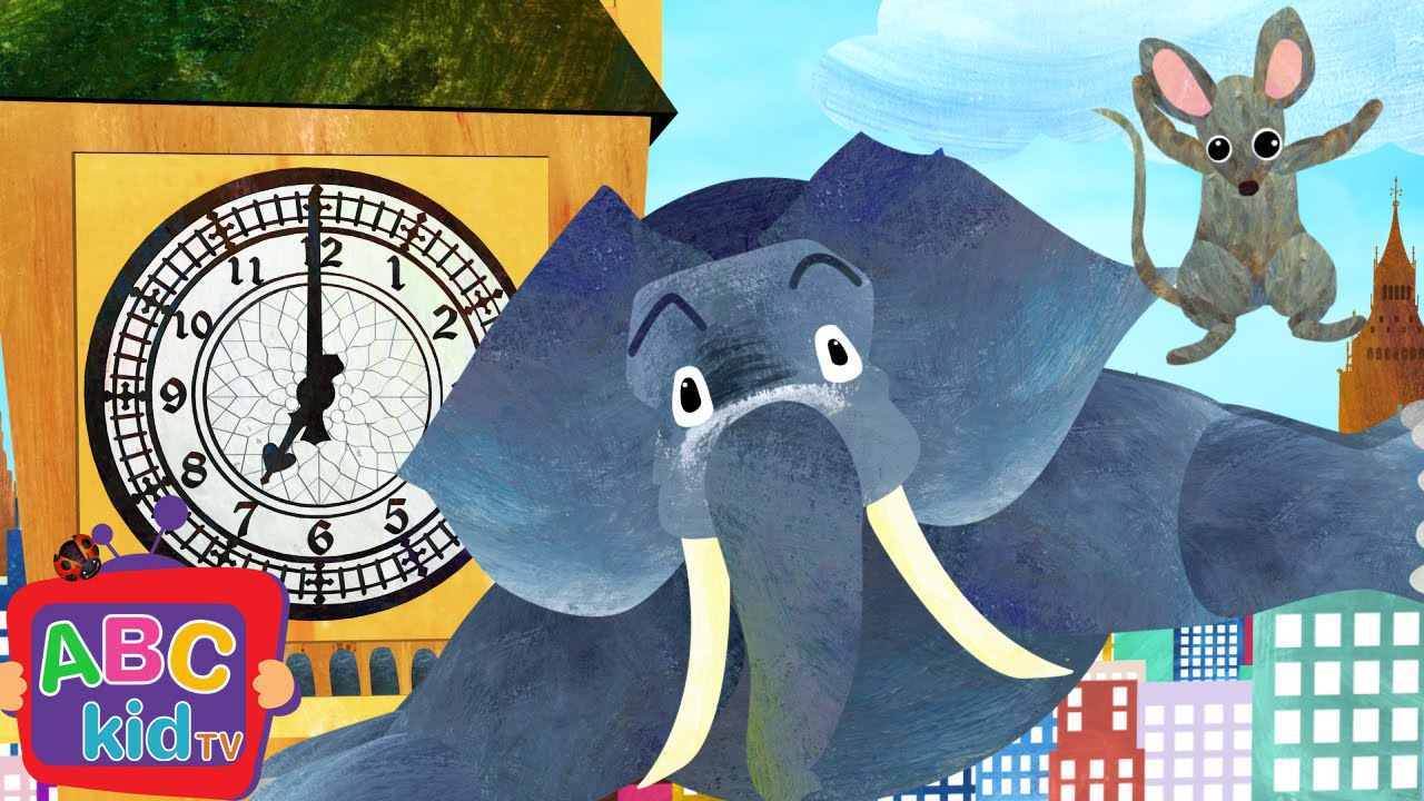 Hickory Dickory Dock (2D) | CoCoMelon Nursery Rhymes & Kids Songs