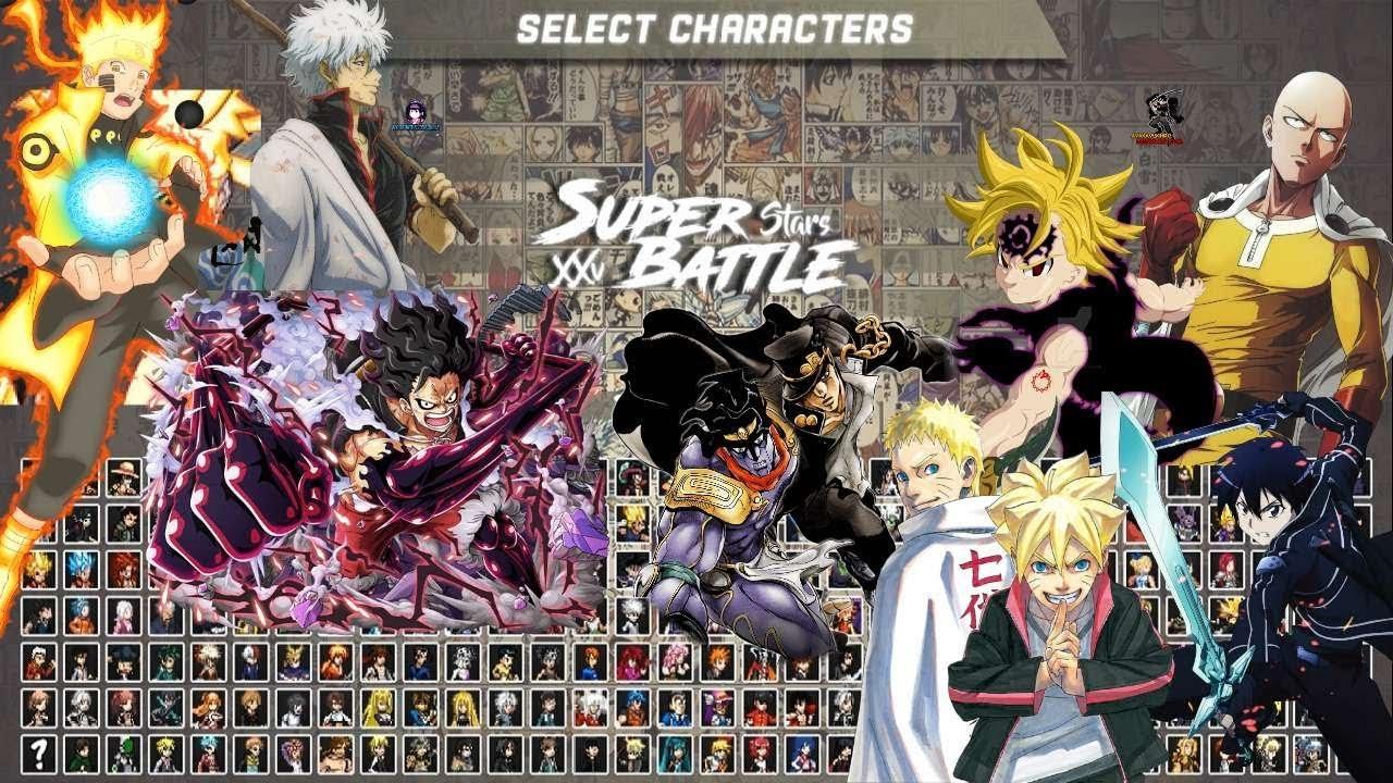 Anime Super Battle Stars Xxv V Youtube