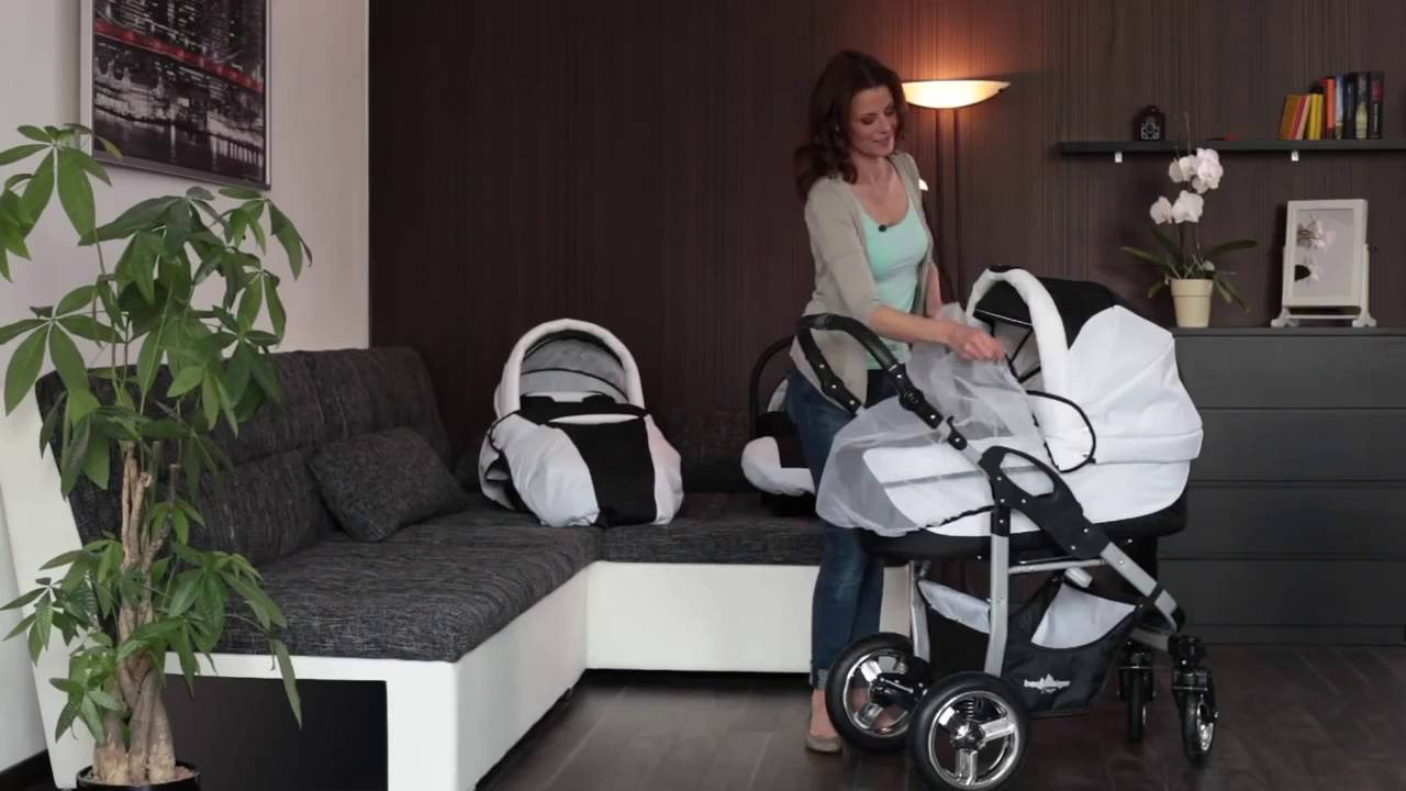 bergsteiger capri kinderwagen youtube. Black Bedroom Furniture Sets. Home Design Ideas