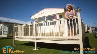ETK Lettings - The Meadows Static Caravan - North Wales