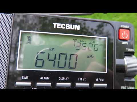 6400 kHz Pyongyang BS with sign off - 17/04/2017