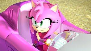 Sonic ve Kız Arkadaşı Amy Dragon Kupasında Süper Arabalarla 6. Bölüm