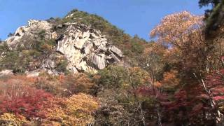 昇仙峡の紅葉(フルHD映像)