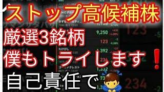 (月)ストップ高候補株】テラ(2191)と○○2つの株に注目.