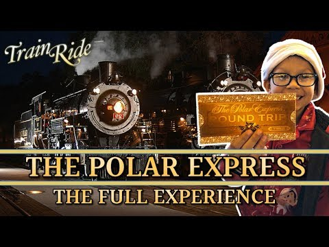 WE RODE THE REAL POLAR EXPRESS TRAIN! OUT FULL EXPERIENCE!