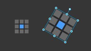 Affinity Designer - Transform, scale, rotate & shear