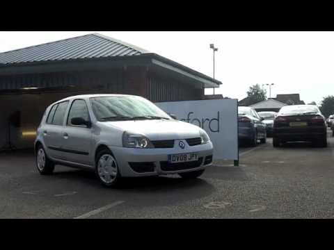 USED RENAULT CLIO DIESEL HATCHBACK (2008) 1.5 DCI 65 CAMPUS 2007 5DR - DV08JPY