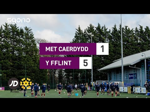 Cardiff Metropolitan Flint Goals And Highlights