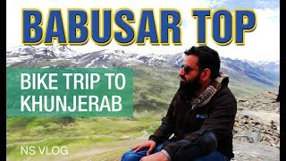 Lake Saiful Malook Naran to Babusar Top - Motorcycle trip to Khunjerab Pass - Part-5