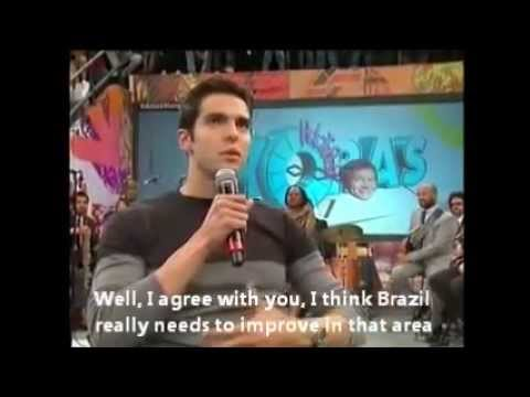 Kaká - Altas Horas - Part 2 (English Subtitles)