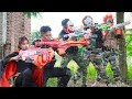 NERF WAR : Special Police SWAT Warriors Nerf Guns Fight Group Dangerous Criminals Mask Requite