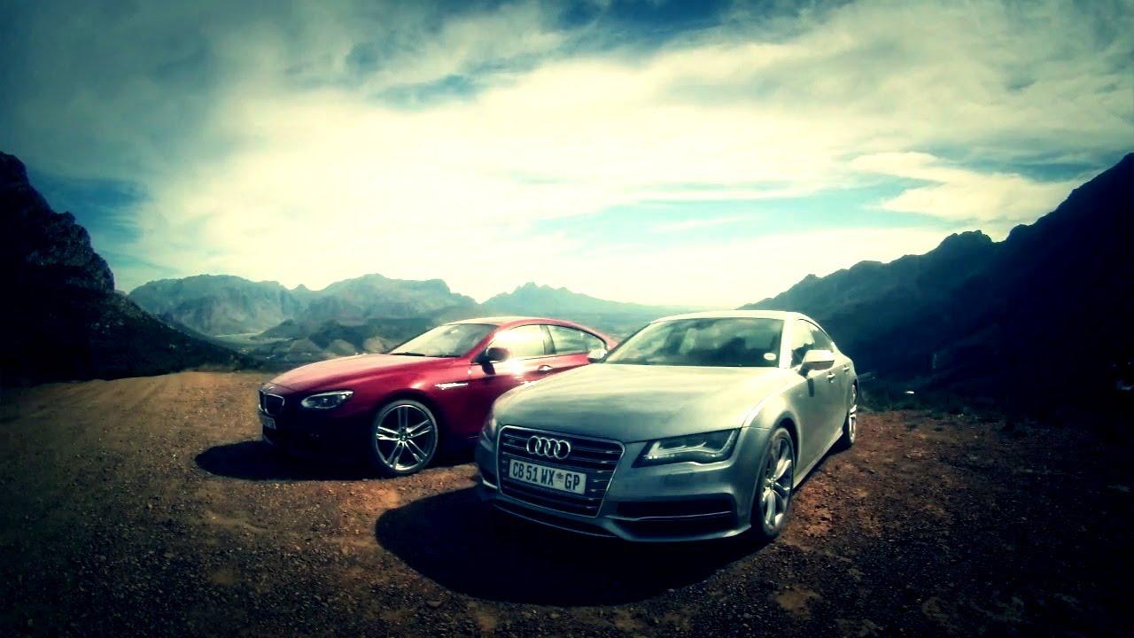 Audi S Vs BMW I Gran Coupe YouTube - Audi s7 vs bmw 650i gran coupe