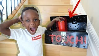 We Unlocked The Abandoned Mysterious Box!!
