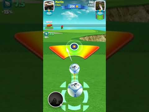 Martin Draper Golf Clash - 2017-10-24 hole in one