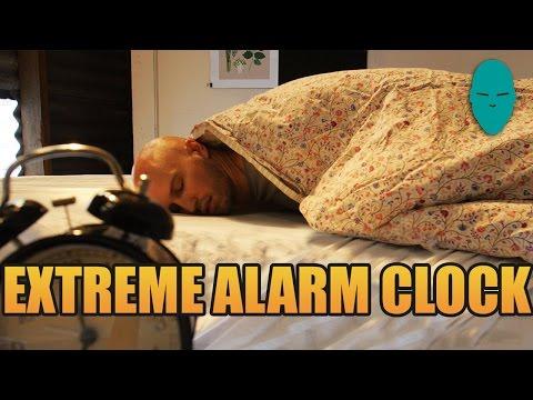 Extreme Alarm Clock | Damien Walters