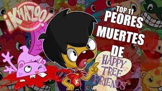 Repeat youtube video Top 11 Peores Muertes De Happy Tree Friends | ¡KHAZOO!