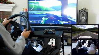 Gran Turismo 5 Nurburgring in S2000 w/ Custom Cockpit [GT5]