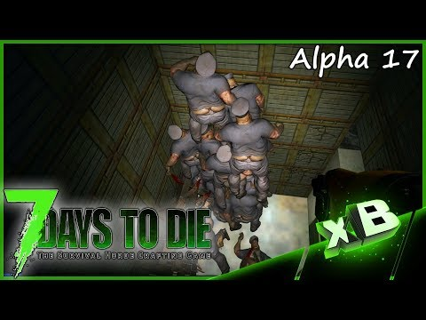 Alpha 17 Fall Trap?! :: 7 Days to Die | Alpha 17 :: Base Testing!