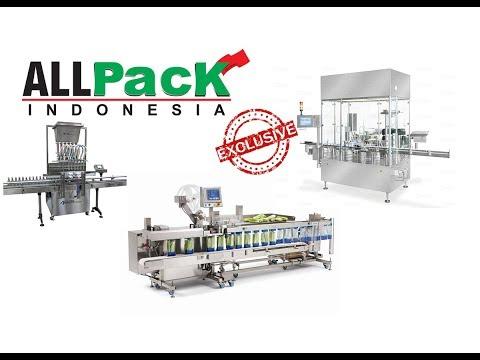 Packaging Machines Exclusive - AllPack Jakarta 2017