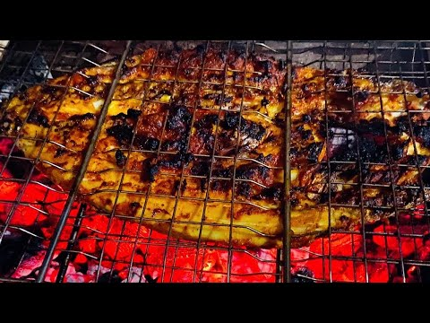 Fish Grill Restuarent Style | How To Grill A Whole Fish | Couples House | BBQ Fish