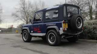 INSANE 500bhp V8 Supercharged Land Rover Zulu Defender from JE Engineering