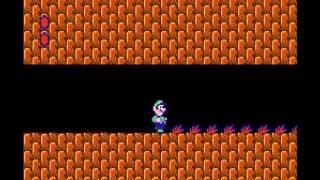 Super Mario Bros 2 - Nintendo NES - warp on World 3-1 - User video