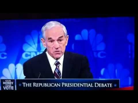 Ron Paul explains Capitalism vs Crony Capitalism Debate 11/